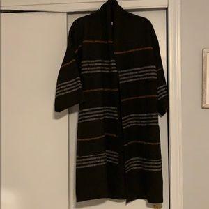 Love stitch duster sweater